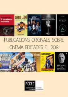 Publicacions originals sobre cinema editades el 2018