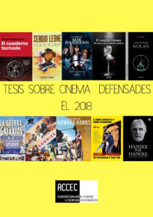 Tesis doctorals sobre cinema defensades el 2018