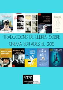 Traduccions de llibres sobre cinema editades el 2018